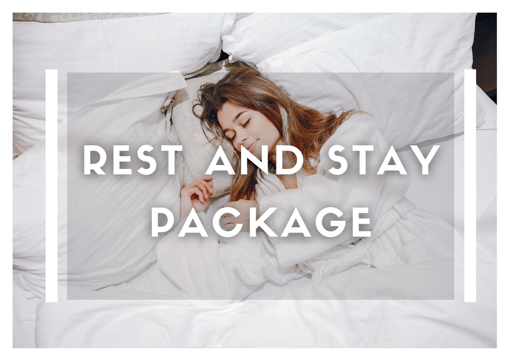 "Rest and Stay Package( Valid for HKTB""Staycation Delights""programme )"